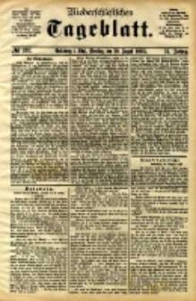 Niederschlesisches Tageblatt, no 202 (Grünberg i. Schl., Dienstag, den 29. August 1893)