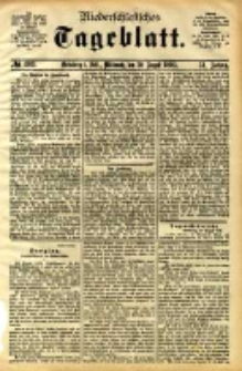 Niederschlesisches Tageblatt, no 203 (Grünberg i. Schl., Mittwoch, den 30. August 1893)