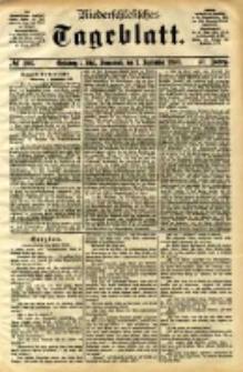 Niederschlesisches Tageblatt, no 206 (Grünberg i. Schl., Sonnabend, den 2. September 1893)
