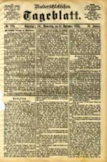 Niederschlesisches Tageblatt, no 216 (Grünberg i. Schl., Donnerstag, den 14. September 1893)