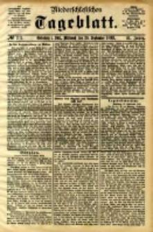 Niederschlesisches Tageblatt, no 221 (Grünberg i. Schl., Mittwoch, den 20. September 1893)