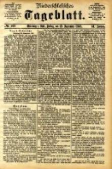 Niederschlesisches Tageblatt, no 223 (Grünberg i. Schl., Freitag, den 22. September 1893)