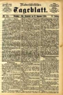 Niederschlesisches Tageblatt, no 224 (Grünberg i. Schl., Sonnabend, den 23. September 1893)