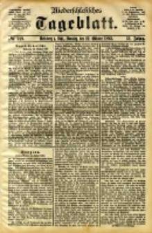 Niederschlesisches Tageblatt, no 249 (Grünberg i. Schl., Sonntag, den 22. Oktober 1893)