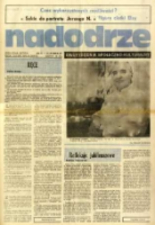 Nadodrze: dwutygodnik społeczno-kulturalny, nr 5 (26 lutego-10 marca 1984)