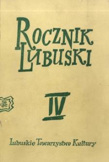 Rocznik Lubuski (t. 4)