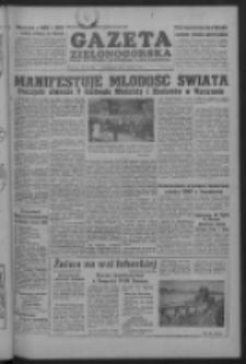Gazeta Zielonogórska : organ KW Polskiej Zjednoczonej Partii Robotniczej R. IV Nr 181 (1 sierpnia 1955)