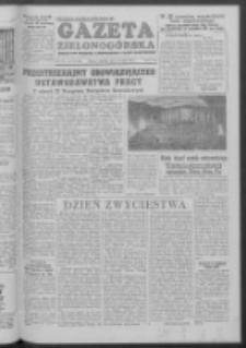 Gazeta Zielonogórska : organ KW Polskiej Zjednoczonej Partii Robotniczej R. III Nr 109 (8/9 maja 1954)