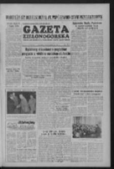 Gazeta Zielonogórska : organ KW Polskiej Zjednoczonej Partii Robotniczej R. III Nr 242 (11 października 1954)