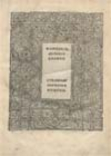 Wandalia in quade wandalorum populis, et eorum patrio solo, ac in Italiam, Galliam, Hispanias, Aphricam, et Dalmatiam, migratione: et de eorum regibus, ac bellis domi, forisque gestis