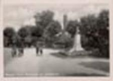 Nowa Sól / Neusalz; Promenade mit Jahndenkmal; Promenada z pomnikiem