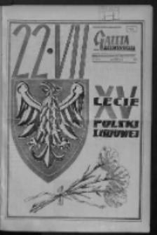 Gazeta Zielonogórska : organ KW Polskiej Zjednoczonej Partii Robotniczej R. VIII Nr 173 (22 lipca 1959). - Wyd. A