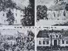 Świdnica / Schweinitz; Schloß; Zamek; Gasthof von Hermann Karel; Gospoda Hermanna Karela