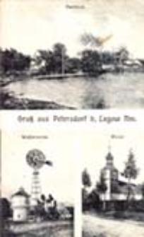 Łagów / Lagow; Gruß aus Petersdorf b. Lagow