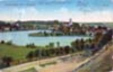 Łagów / Lagow; Panorama von Lagow