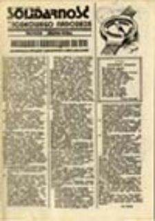Solidarność Środkowego Nadodrza: Głogów Zielona Góra,15 luty 1981, nr 1