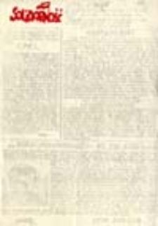 """Solidarność Środkowego Nadodrza: Zielona Góra: Biuletyn Tymczasowej Regionalnej Komisji Koordynacyjnej NSZZ """"Solidarność"""" Regionu Zielonogórskiego, 10 styczeń 1983, nr 35 (8)"""