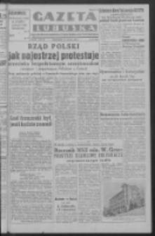 Gazeta Lubuska : organ Komitetu Wojewódzkiego Polskiej Zjednoczonej Partii Robotniczej R. III Nr 16 (16 stycznia 1950). - Wyd. ABCD