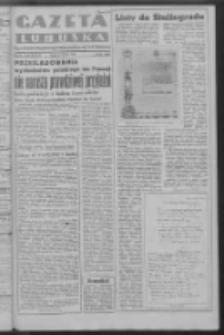 Gazeta Lubuska : organ Komitetu Wojewódzkiego Polskiej Zjednoczonej Partii Robotniczej R. III Nr 34 (3 lutego 1950). - Wyd. ABCDEFG
