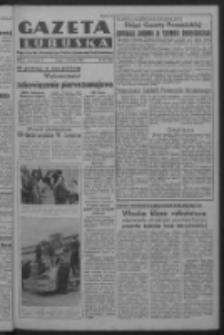 Gazeta Lubuska : organ Komitetu Wojewódzkiego Polskiej Zjednoczonej Partii Robotniczej R. III Nr 102 (14 kwietnia 1950). - Wyd. ABCDEFG
