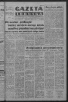 Gazeta Lubuska : organ Komitetu Wojewódzkiego Polskiej Zjednoczonej Partii Robotniczej R. III Nr 105 (17 kwietnia 1950). - Wyd. ABCDEFG