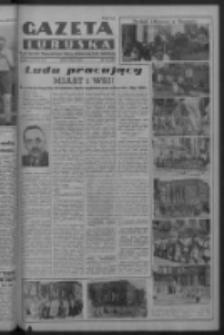 Gazeta Lubuska : organ Komitetu Wojewódzkiego Polskiej Zjednoczonej Partii Robotniczej R. III Nr 121 (3 maja 1950). - Wyd. ABCDEFG
