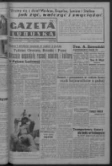 Gazeta Lubuska : organ Komitetu Wojewódzkiego Polskiej Zjednoczonej Partii Robotniczej R. III Nr 123 (5 maja 1950). - Wyd. ABCDEFG