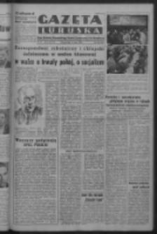 Gazeta Lubuska : organ Komitetu Wojewódzkiego Polskiej Zjednoczonej Partii Robotniczej R. III Nr 126 (8 maja 1950). - Wyd. ABCDEFG