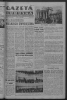 Gazeta Lubuska : organ Komitetu Wojewódzkiego Polskiej Zjednoczonej Partii Robotniczej R. III Nr 128 (10 maja 1950). - Wyd. ABCDEFG