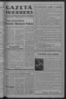 Gazeta Lubuska : organ Komitetu Wojewódzkiego Polskiej Zjednoczonej Partii Robotniczej R. III Nr 131 (13 maja 1950). - Wyd. ABCDEFG