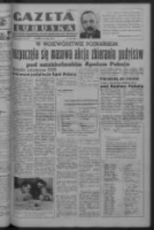 Gazeta Lubuska : organ Komitetu Wojewódzkiego Polskiej Zjednoczonej Partii Robotniczej R. III Nr 132 (14 maja 1950). - Wyd. ABCDEFG