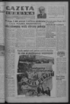 Gazeta Lubuska : organ Komitetu Wojewódzkiego Polskiej Zjednoczonej Partii Robotniczej R. III Nr 136 (18 maja 1950). - Wyd. ABCDEFG