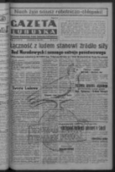 Gazeta Lubuska : organ Komitetu Wojewódzkiego Polskiej Zjednoczonej Partii Robotniczej R. III Nr 147 (29 maja 1950). - Wyd. ABCDEFG