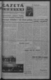 Gazeta Lubuska : organ Komitetu Wojewódzkiego Polskiej Zjednoczonej Partii Robotniczej R. III Nr 159 (11 czerwca 1950). - Wyd. ABCDEFG