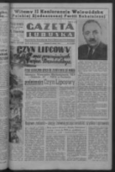Gazeta Lubuska : organ Komitetu Wojewódzkiego Polskiej Zjednoczonej Partii Robotniczej R. III Nr 177 (29 czerwca 1950). - Wyd. ABCDEFG
