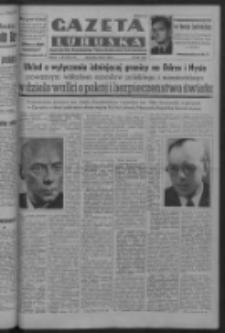 Gazeta Lubuska : organ Komitetu Wojewódzkiego Polskiej Zjednoczonej Partii Robotniczej R. III Nr 187 (9 lipca 1950). - Wyd. ABCDEFG