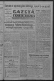 Gazeta Lubuska : organ Komitetu Wojewódzkiego Polskiej Zjednoczonej Partii Robotniczej R. III Nr 204 (27 lipca 1950). - Wyd. ABCDEFG