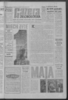Gazeta Zielonogórska : niedziela : organ KW Polskiej Zjednoczonej Partii Robotniczej R. IX Nr 102 (30 kwietnia - 1 maja 1960). - Wyd. ABC