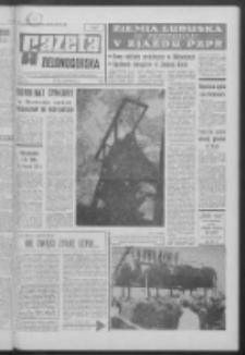 Gazeta Zielonogórska : organ KW Polskiej Zjednoczonej Partii Robotniczej R. XVII Nr 267 (9/10 listopada 1968). - Wyd. A