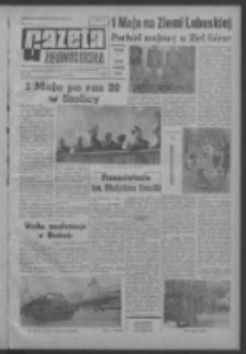 Gazeta Zielonogórska : organ KW Polskiej Zjednoczonej Partii Robotniczej R. XIII Nr 104 (4 maja 1964). - Wyd. A