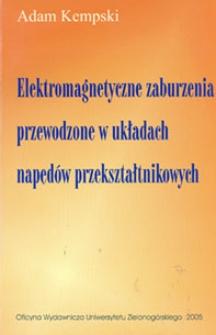 Elektromagnetyczne zaburzenia przewodzone w układach napędów przekształtnikowych