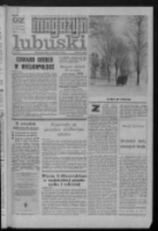 Gazeta Zielonogórska : magazyn lubuski : organ KW PZPR w Zielonej Górze [R. XXI] Nr 12 (15/16 stycznia 1972). - Wyd. A