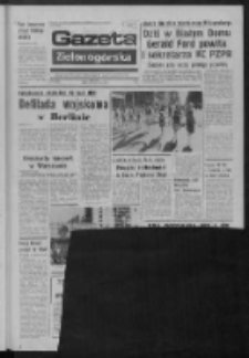 Gazeta Zielonogórska : organ KW Polskiej Zjednoczonej Partii Robotniczej R. XXIII Nr 236 (8 października 1974). - Wyd. A