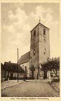 Otyń / Deutsch - Wartenberg; Kath. Pfarrkirche Deutsch-Wartenberg