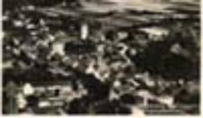 Otyń / Deutsch - Wartenberg; Deutschwartenberg Bez. Liegnitz Fliegeraufnahme