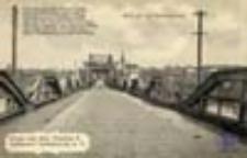 Cigacice / Tschicherzing; Blick auf den Brückenaufzug; Widok na most kolejowy