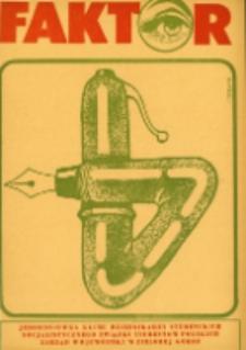 Faktor: jednodniówka Klubu Dziennikarzy Studenckich, 20/21 (grudzień 1979)
