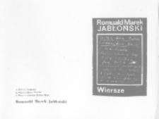 Faktor: jednodniówka Klubu Dziennikarzy Studenckich: Wiersze (kwiecień 1980)