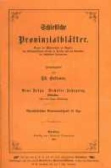 Schlesische Provinzialblätter. Neue folge. Sechster jahrgang. Oktober. (Mit einer lithogr. Abbildung.)