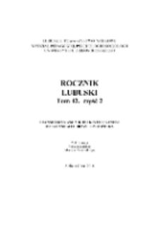 Rocznik Lubuski (t. 42, cz.2): Transhumanizm a kontrintuicyjność mitycznego obrazu człowieka